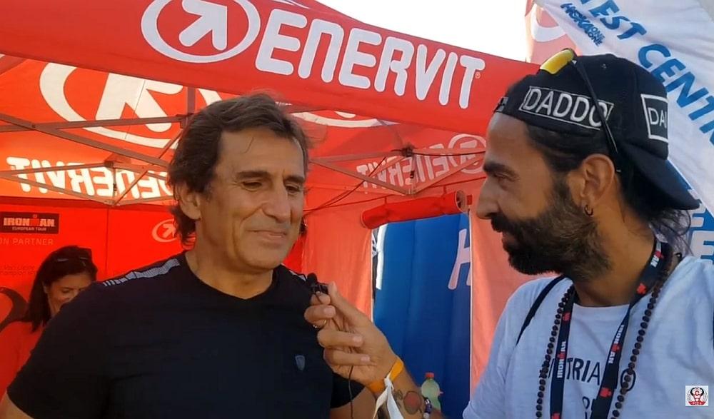 Alex Zanardi e Dario Nardone