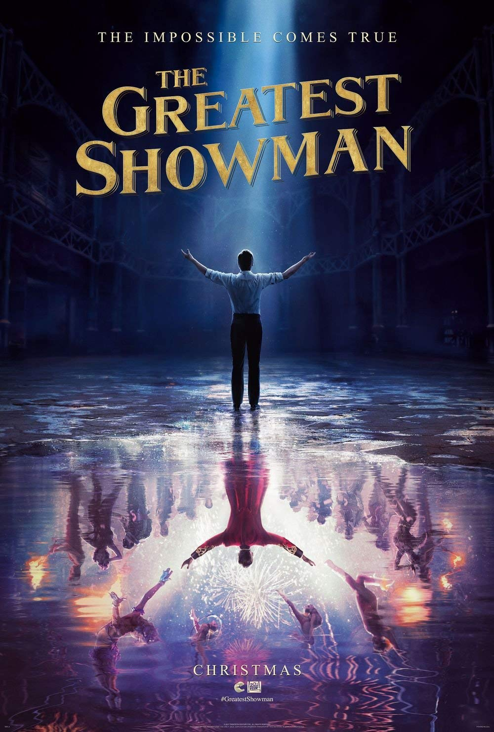the greatest showman locandina