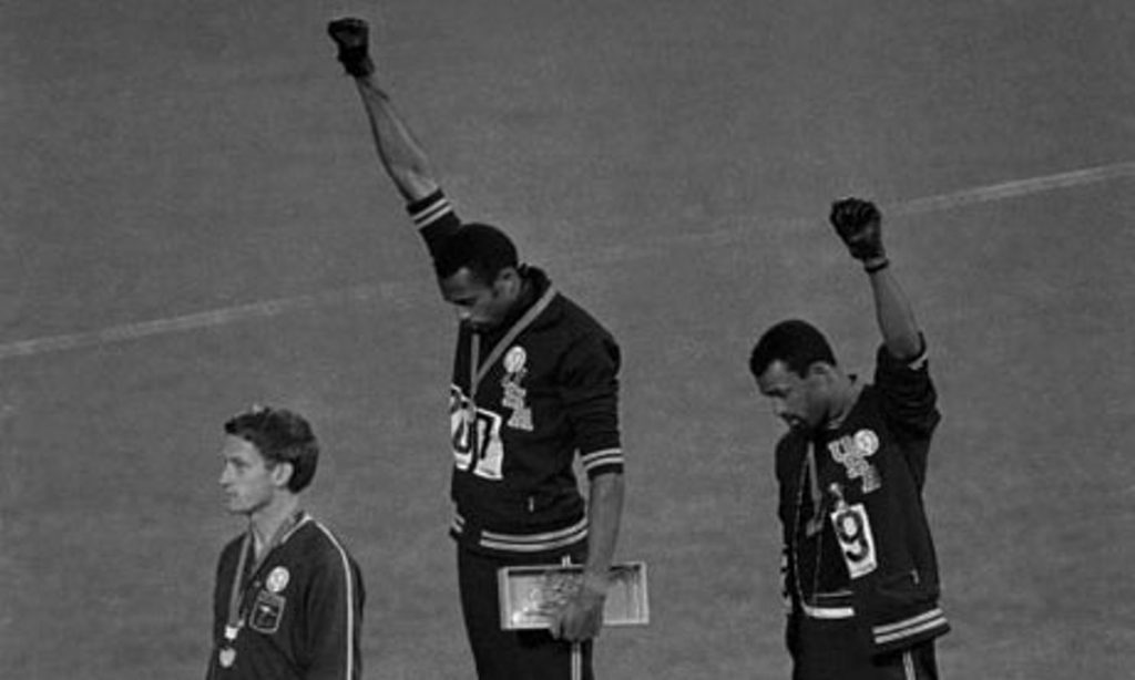tommie smith john carlos messico 1968